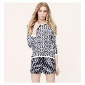 Loft 100% linen sweater